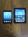 セットアップ完了 iPad と並べてみた