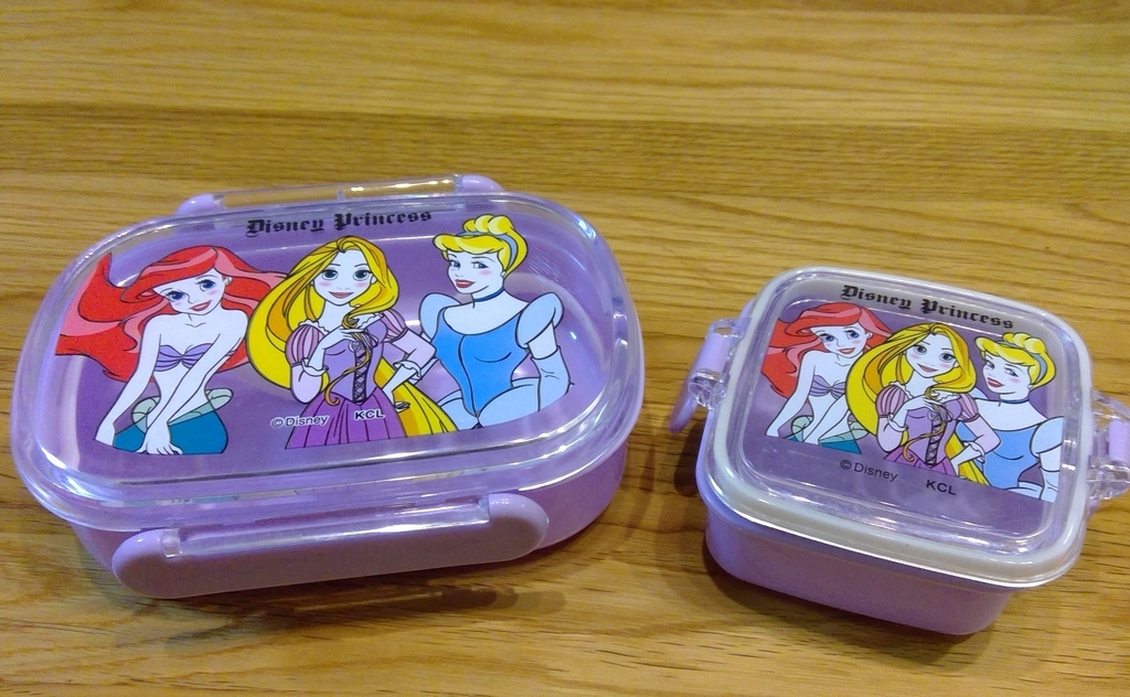 プリンセス お弁当箱・フルーツ入れ
