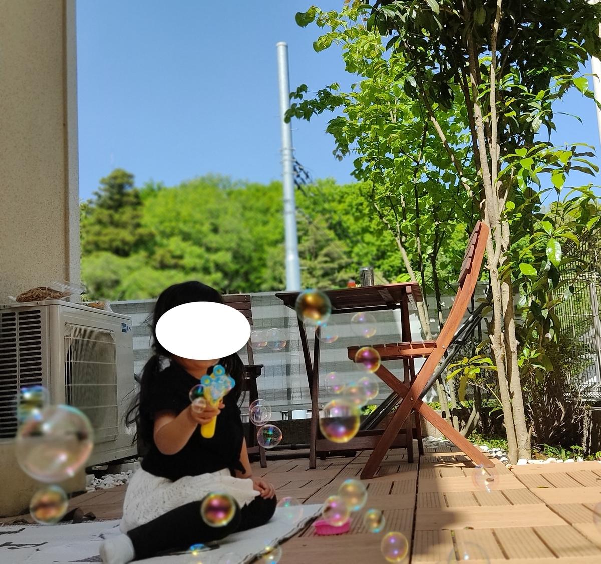 ウッドパネル 庭 リフォーム