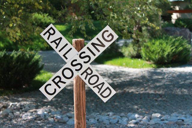 アメリカの線路標識