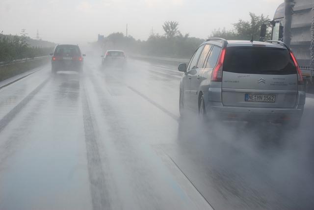 雨天時の運転