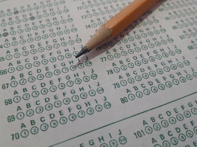 運転免許の筆記試験