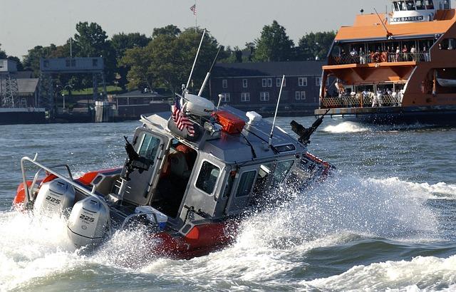 沿岸警備隊の警備