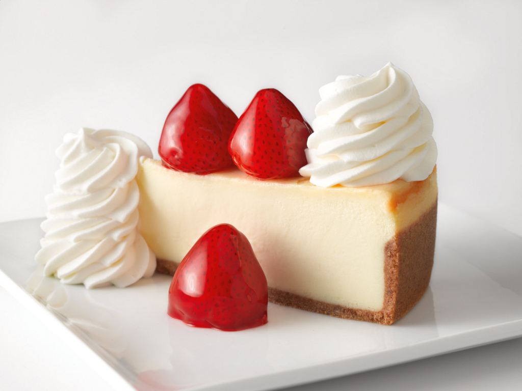 チーズケーキファクトリーストロベリーチーズケーキ