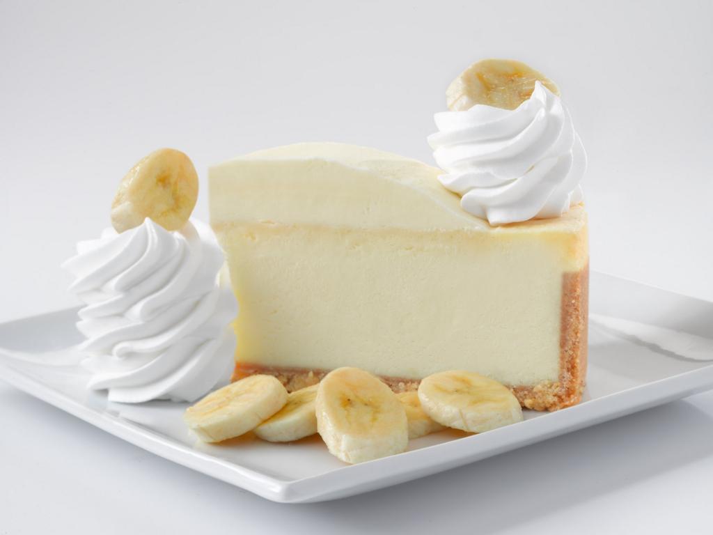 バナナチーズケーキ