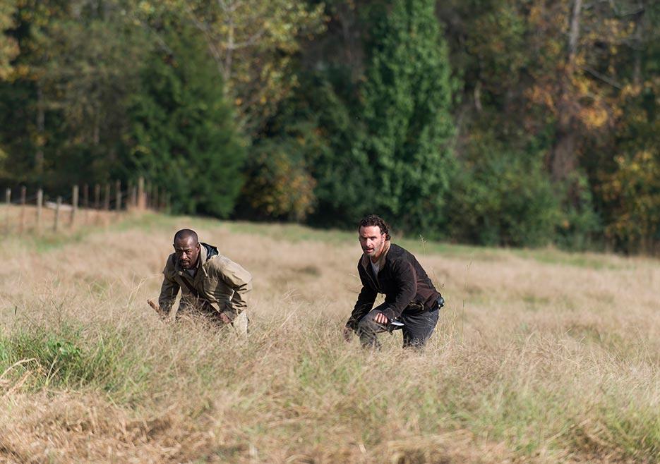 fウォーキング・デッドシーズン6第15話リックとモーガン