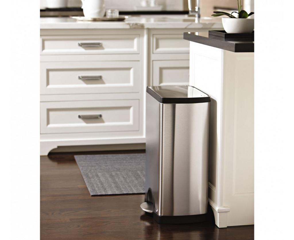 キッチン用品シンプルヒューマンゴミ箱レクタン型