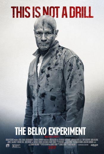 ベルコ・エクスペリメント出演マイケル・ルーカーのポスター