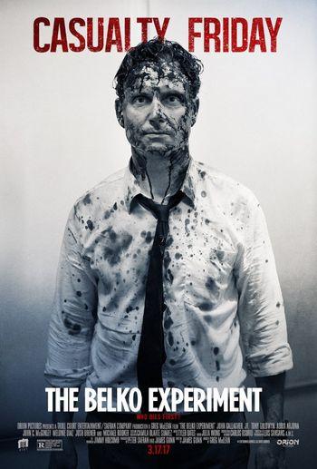 ベルコ・エクスペリメントのノリスのポスター