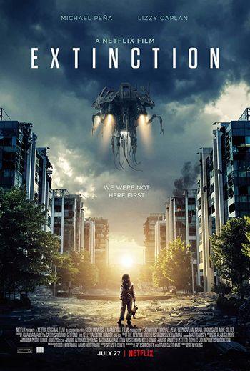 エクスティンクション/地球奪還のあらすじ感想