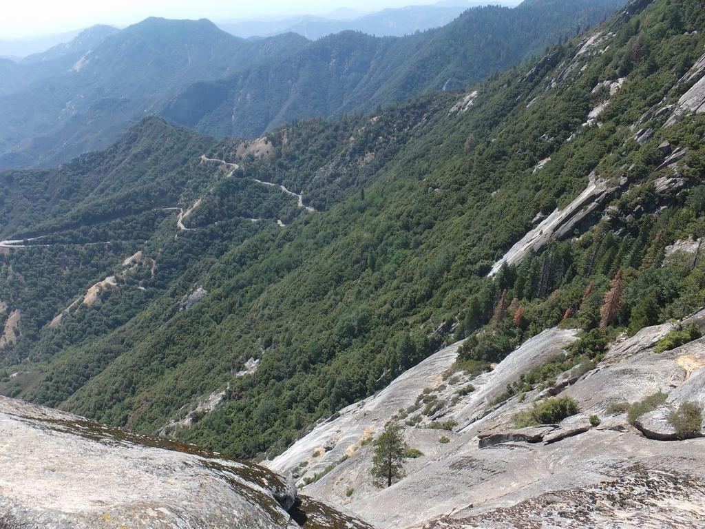 セコイア国立公園モロロック