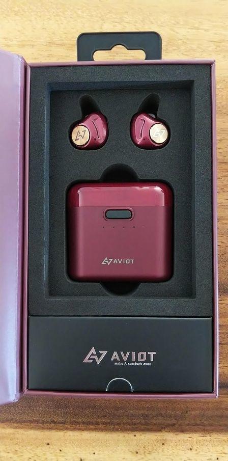 AVIOT TE-D01dワイヤレスイヤホン
