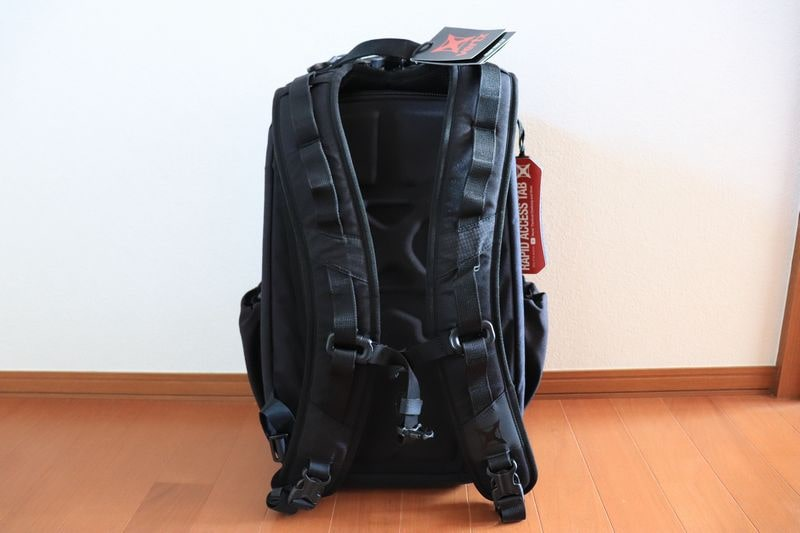 Vertx Ready Pack back panel