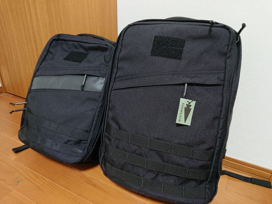 Goruck Rucker 3.0 vs GR1 21L comparison review