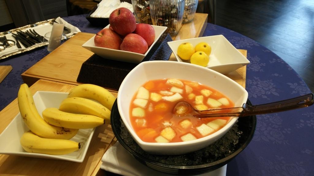 果物とフルーツポンチ