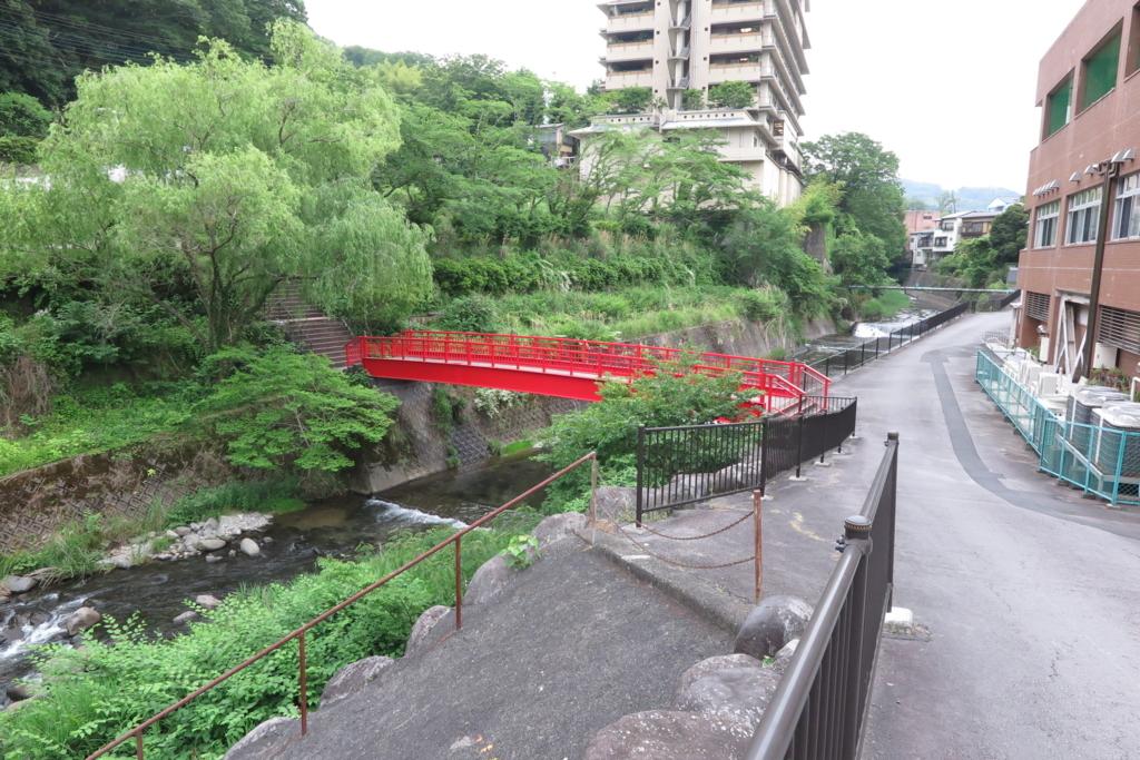 修善寺総合会館横の橋