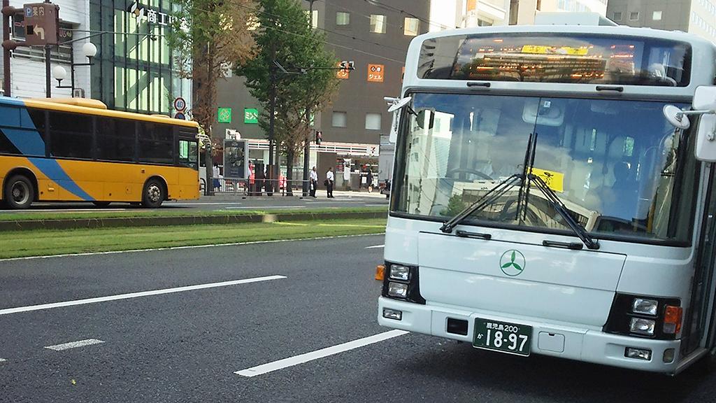 鹿児島交通 2 動物園行きバス