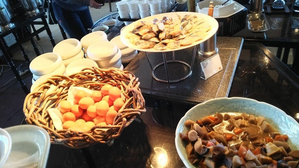 ダイニングFUJIの朝食:和食