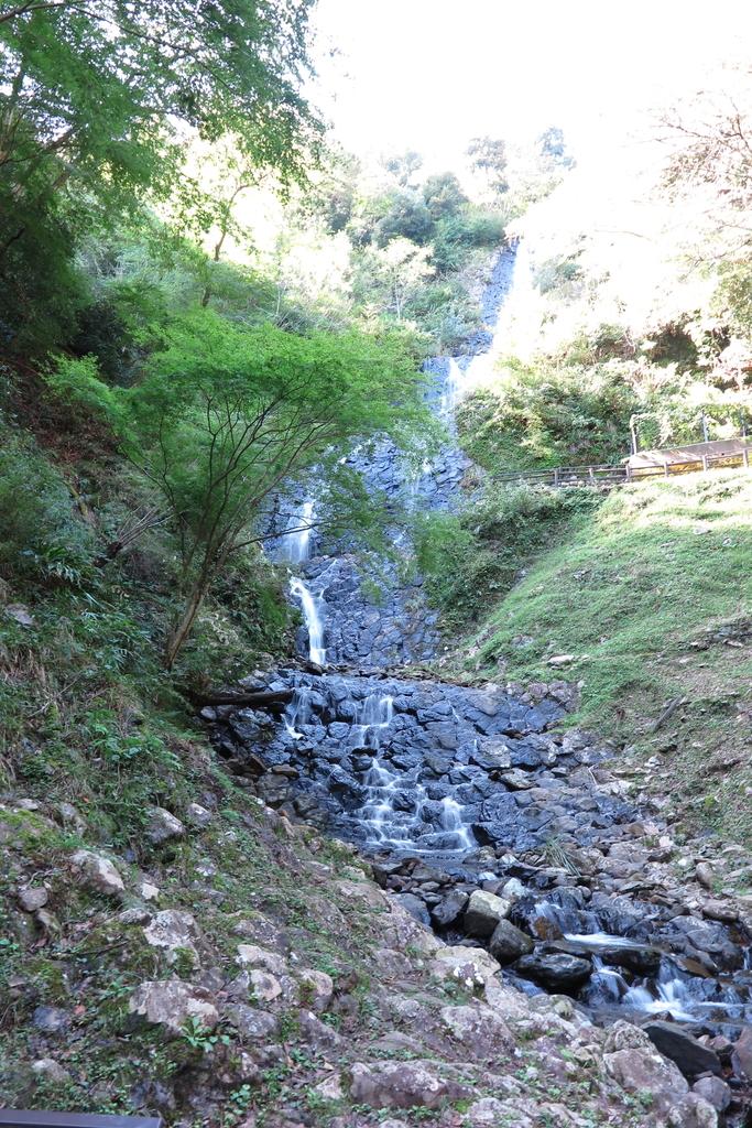 旭滝の滝壺付近から撮影