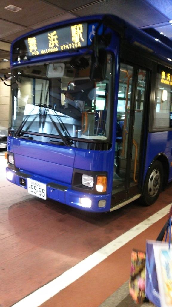 シェラトン・グランデ・トーキョーベイ・ホテルから舞浜駅行きのバス