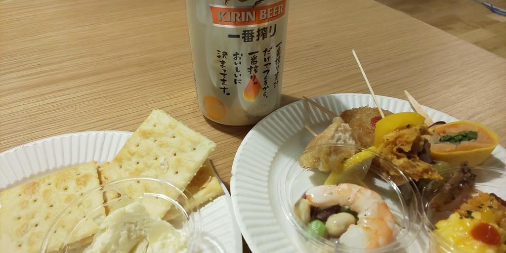 懇親会の軽食