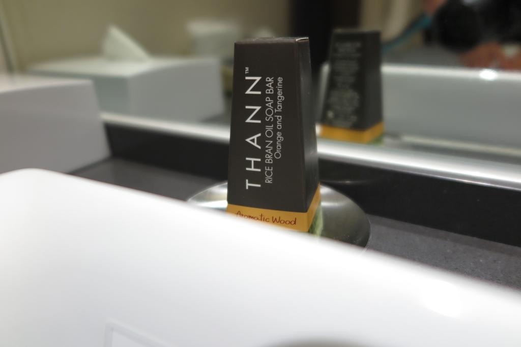 和洋室ツインTHANNの石鹸