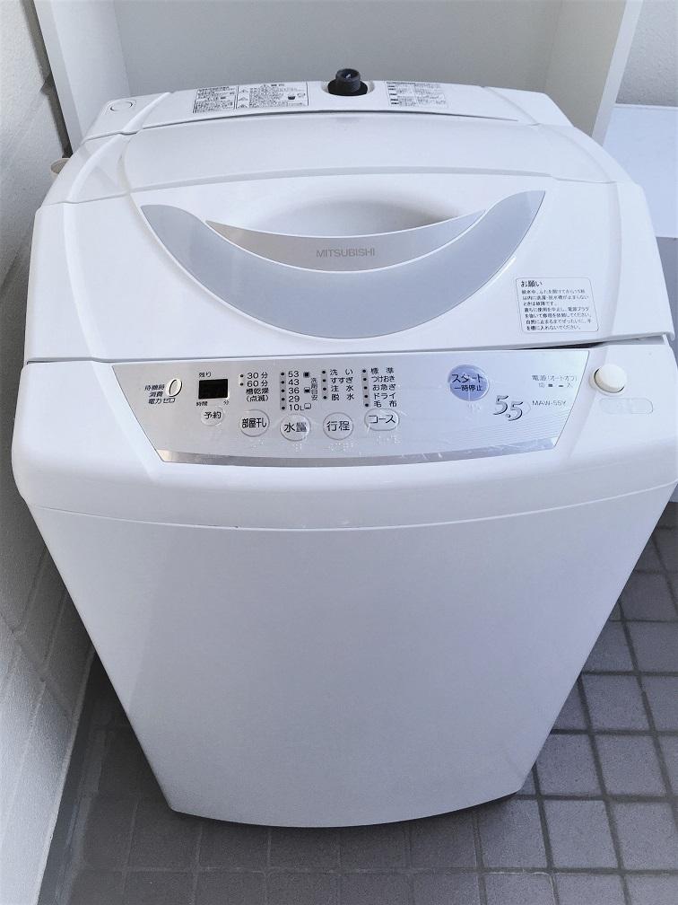 洗濯機を処分。洗濯機使わない生活