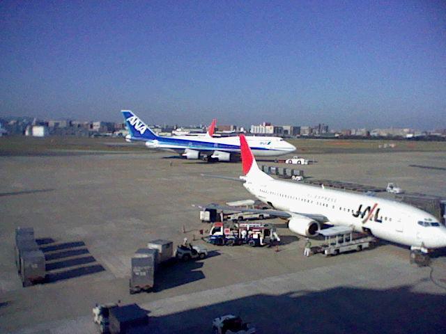 福岡空港の景色