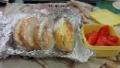 卵サンドとトマト