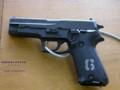 [9mm拳銃][自衛隊][海上自衛隊][海自][JMSDF][下総航空基地][拳銃][GUN][HANDGUN][ミネベア]9mm拳銃