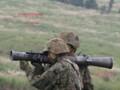 [自衛隊][陸上自衛隊][陸自][JGSDF][総合火力演習][無反動砲][RECOILLESS RIFLE][豊和工業][HOWA MACHINERY]84mm無反動砲を構えた射手と装填手 その3