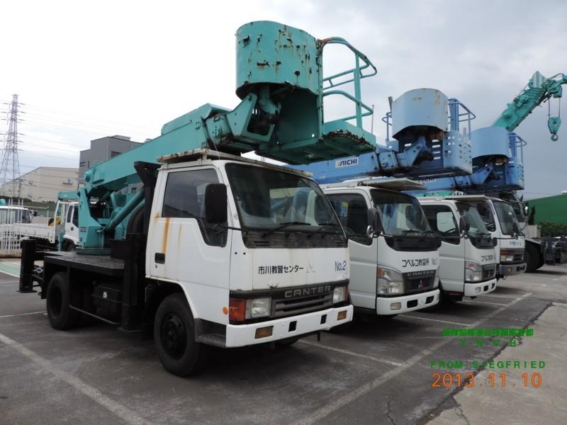 ブーム式高所作業車 (コベルコ建機)