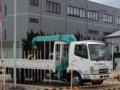 [コベルコ建機][KOBELCO][CRANE][建設機械][重機][建機][クレーン][カーゴクレーン][ユニック車][キャブバッククレーン]キャブバッククレーン車 (コベルコ建機) その1