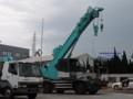[コベルコ建機][KOBELCO][重機][建機][建設機械][CONSTRUCTION EQUIPMENT][CRANE][ROUGH TERRAIN CRANE][ラフター][クレーン]ラフテレーンクレーン (コベルコ建機) その1