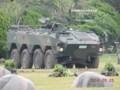 [96式装輪装甲車][自衛隊][陸上自衛隊][陸自][JGSDF][武山駐屯地][装甲兵員輸送車][装甲車][ARMORED CAR][小松製作所]96式装輪装甲車 クーガー その4 & 普通科隊員 その1