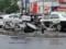 警察仕様 スーパーカブ90 (左)、アドレスV125 (中央)、軽快車 (埼玉県警)