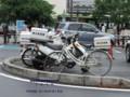 [警察][埼玉県警][ポリス][POLICE][オートバイ][スーパーカブ][スクーター][自転車][本田技研工業][HONDAMOTOR]警察仕様 アドレスV125 (スクーター)  軽快車 (自転車) (埼玉県警)