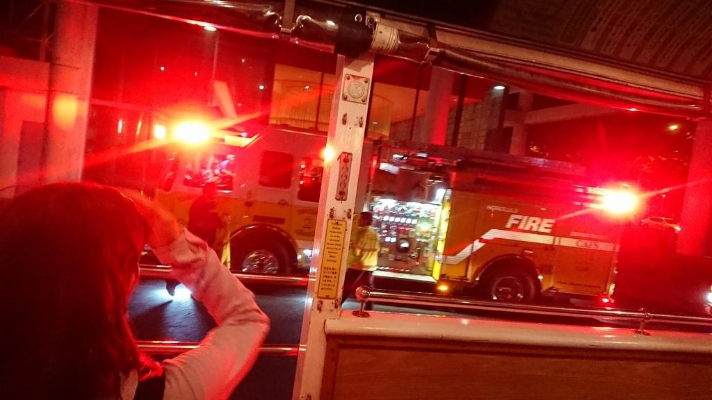アメリカの消防車
