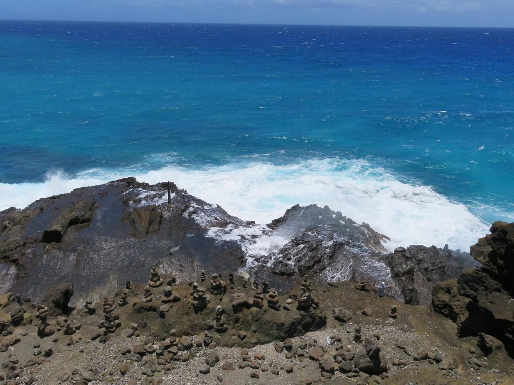 潮吹き岩(吹上前状態)