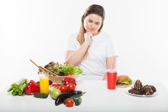 太る食べ方