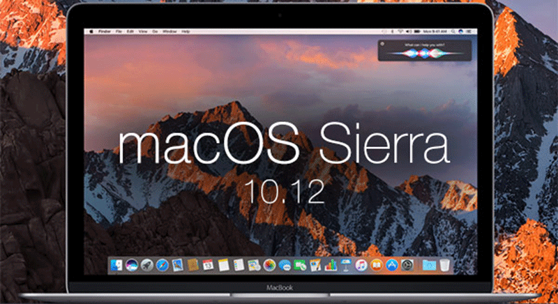 macOS 10.12 Sierral