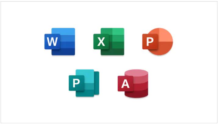 Microsoft 365ではすべてのアプリが使用できます。