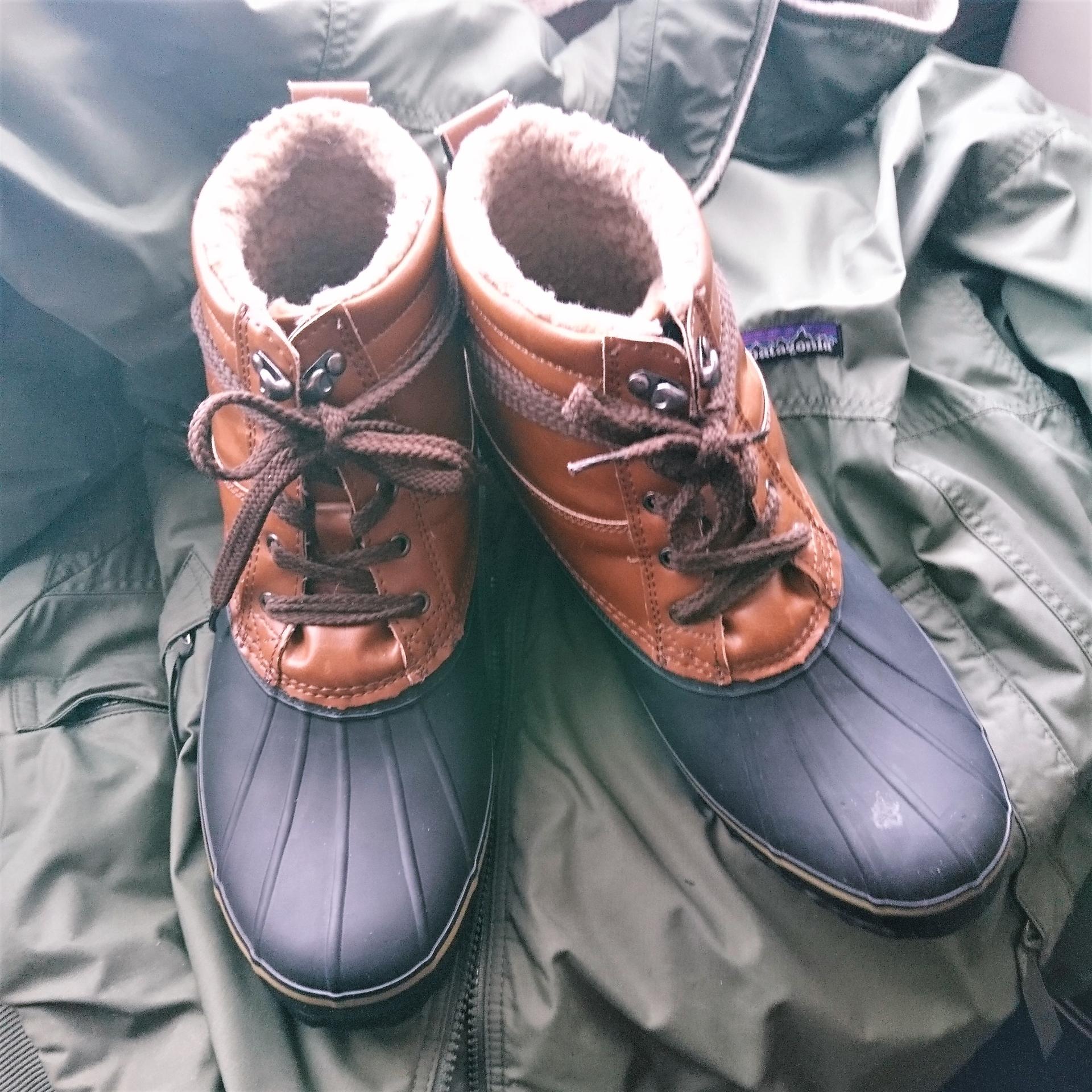 Bean Boots 風@LOCONDは雪道に強かった|職住隣接物語