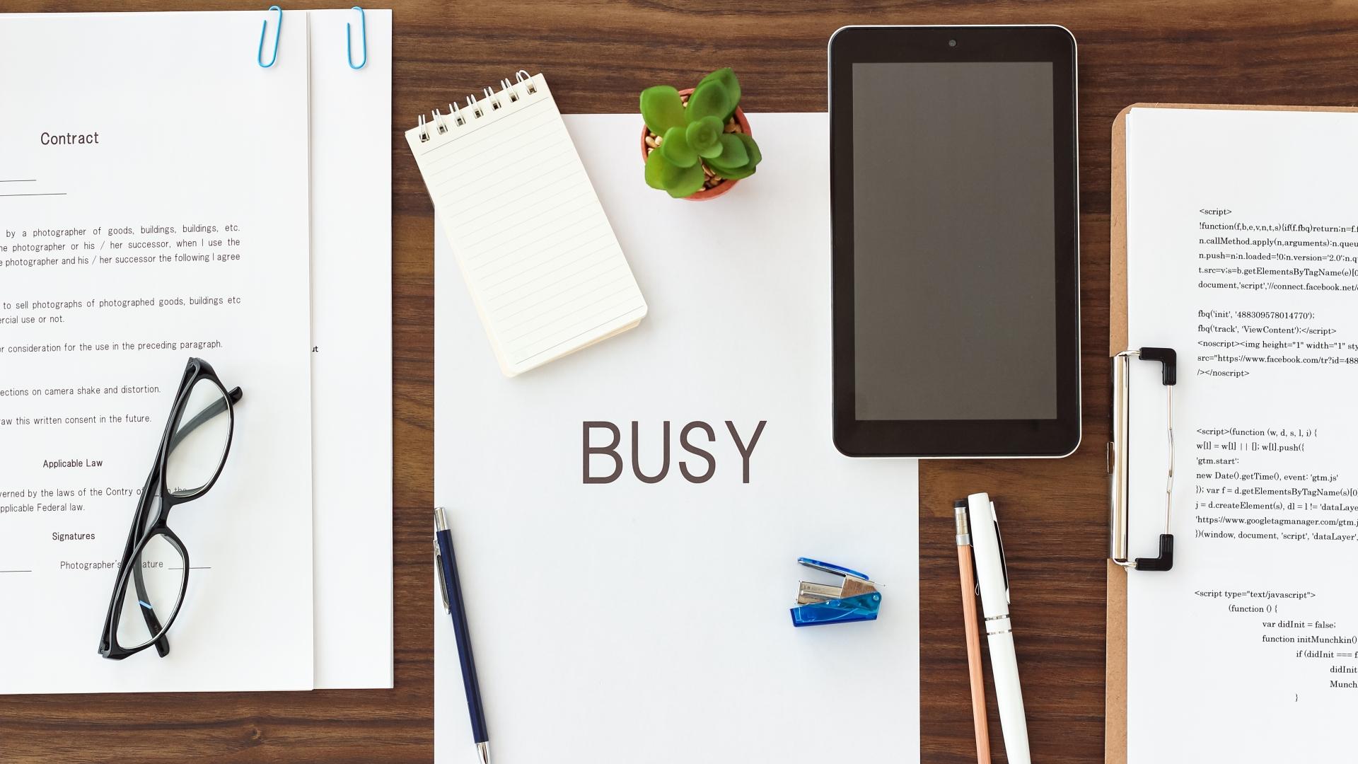 忙しいのが好きな人は依存症かもしれない