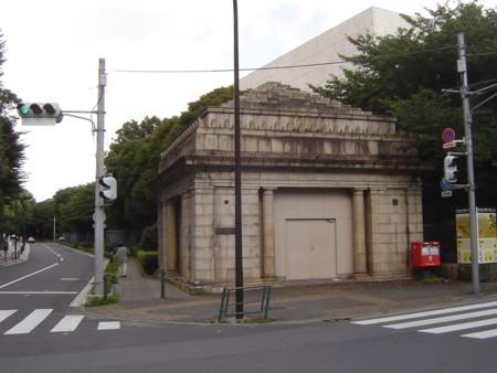 上野動物公園駅跡