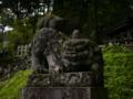 [神社][狛犬]戸隠神社 奥社
