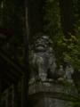 [神社][狛犬]三嶋神社 - 長野市鬼無里