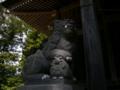 [神社][狛犬]諏訪神社 - 長野市鬼無里財又