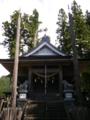 [神社]諏訪神社 - 長野市鬼無里財又