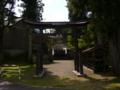 [神社][鳥居]諏訪神社 - 長野市鬼無里財又